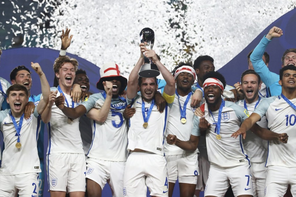 England were crowned winners of the FIFA Under-20 World Cup for the first time as they overcame Venezuela 1-0 ©FIFA