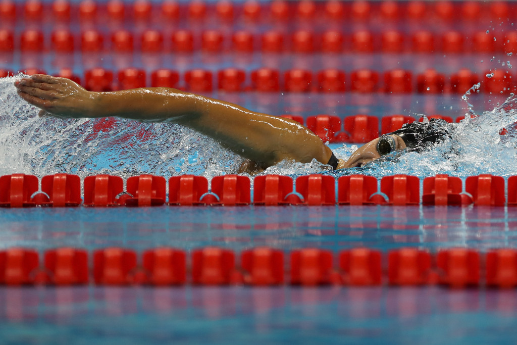 Meyers earns two victories on second day of World Para Swimming World Series in Indianapolis