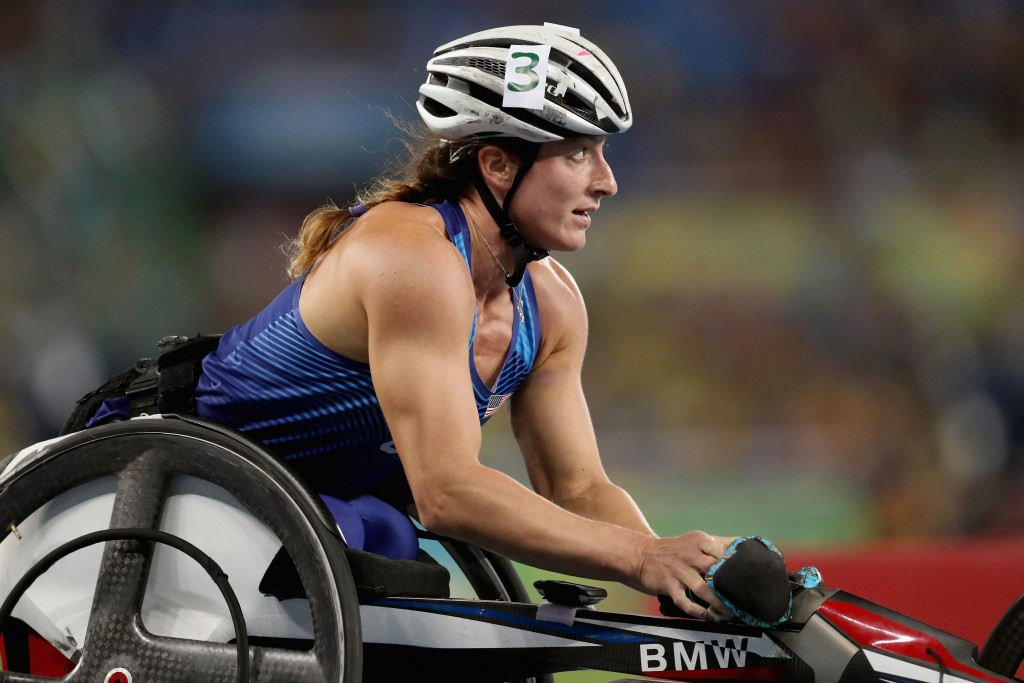 Tatyana McFadden has been named in the United States team for the 2017 World Para Athletics Championships ©Getty Images