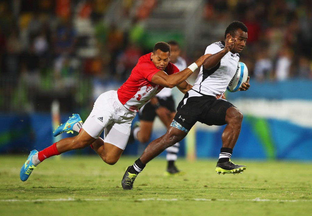 Fiji claimed a historic rugby sevens Olympic gold medal at Rio 2016 ©Getty Images