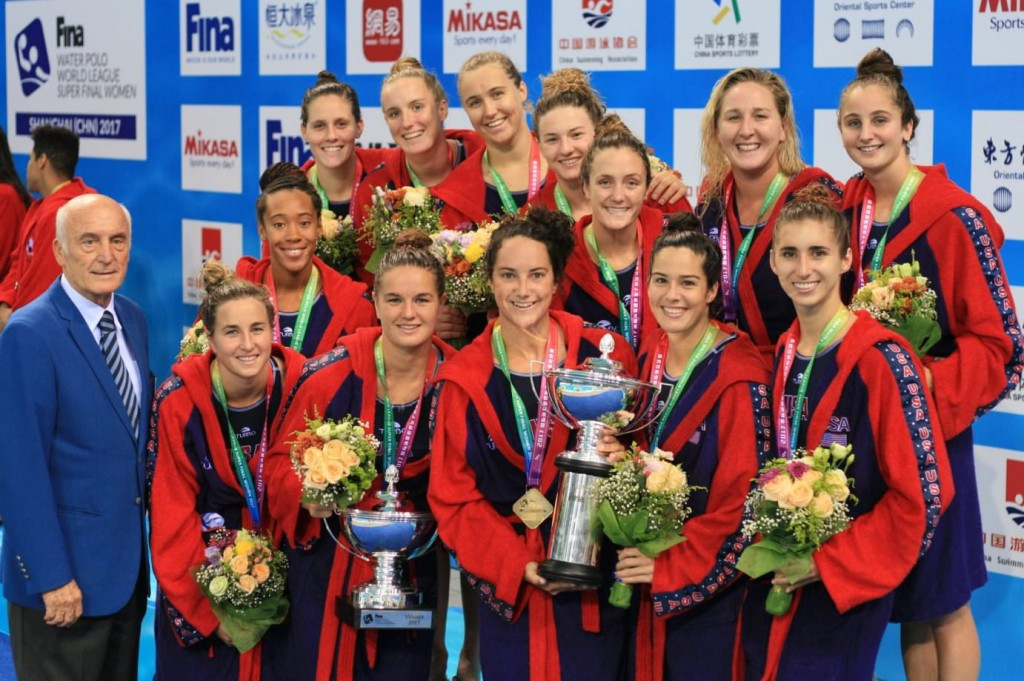 United States seal fourth straight FINA Women's World League Super Final title
