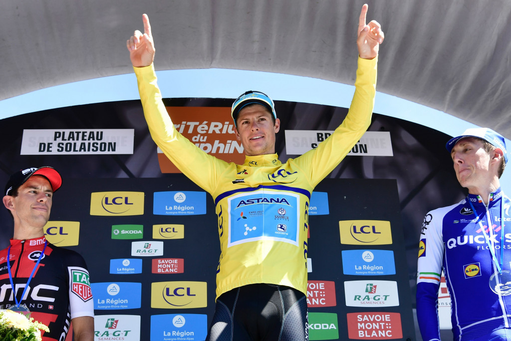 Jakob Fuglsang became the first Danish rider to win the Critérium du Dauphiné ©Getty Images