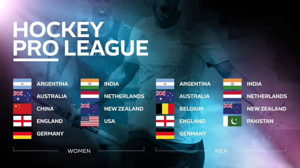The teams for the Hockey Pro League have been announced by the FIH ©FIH