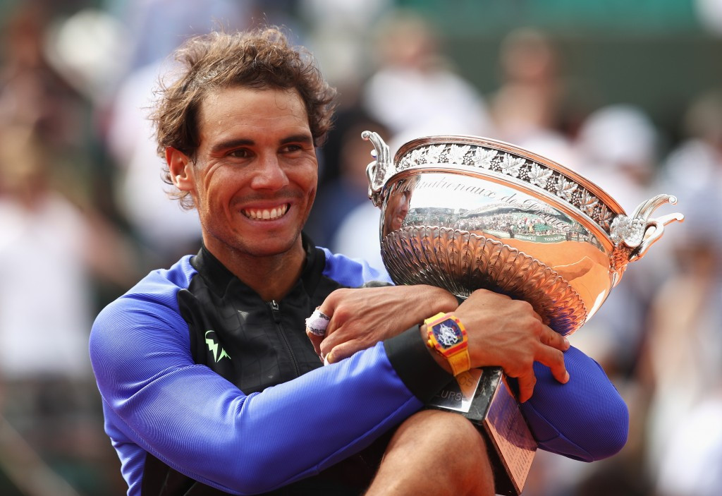 Rafael Nadal won his 10th French Open title today ©Getty Images