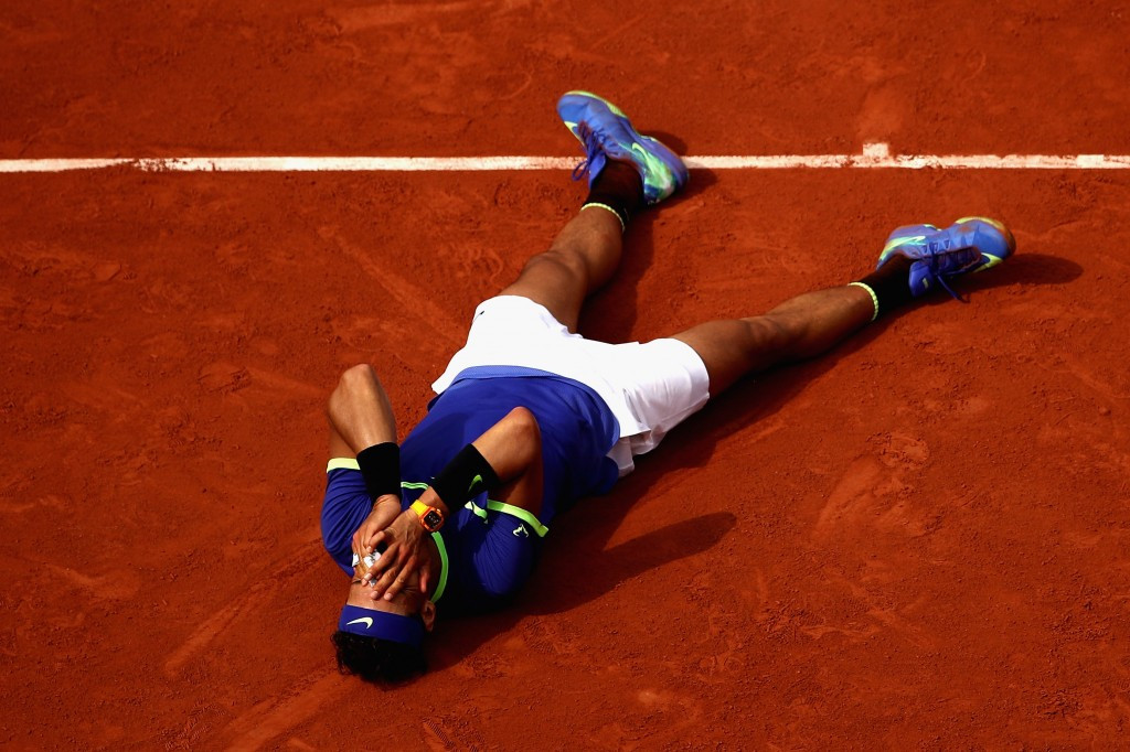 Rafael Nadal, pictured, beat Stan Wawrinka in straight sets in the final ©Getty Images