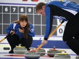 Finland, Norway and Sweden make 100 per cent starts at World Mixed Doubles Curling Championship