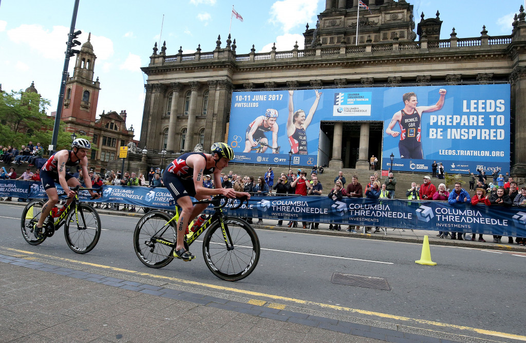 Brownlees dominate home World Triathlon Series in Leeds