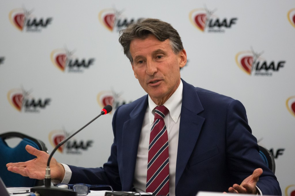 IAAF President Sebastian Coe claimed he is hoping the world governing body will witness a