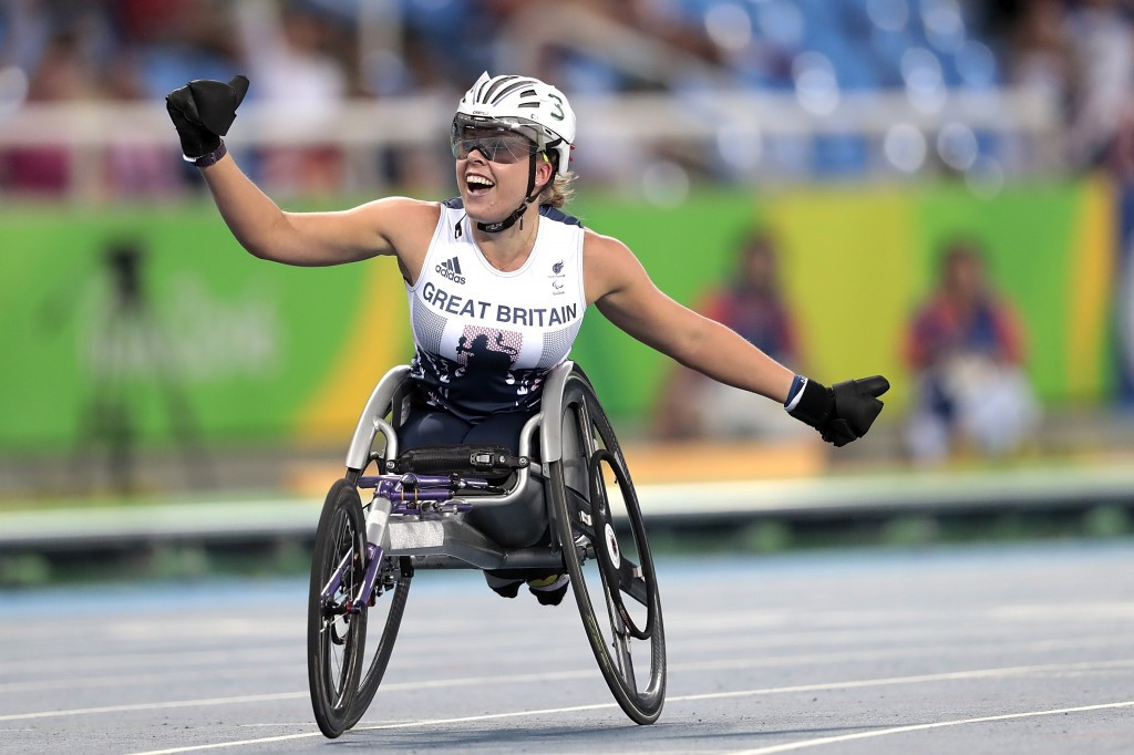 Hannah Cockroft will feature in the women's 400m wheelchair race ©Getty Images