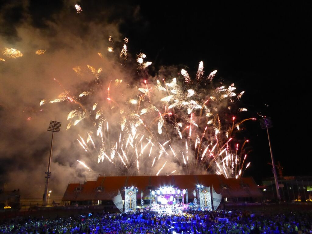 The row over tickets marred what was an excellent party-style Pacific Games Closing Ceremony