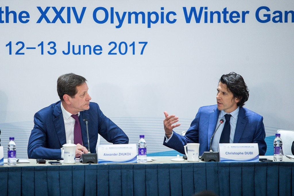 IOC officials hail progress at Beijing 2022 sliding centre