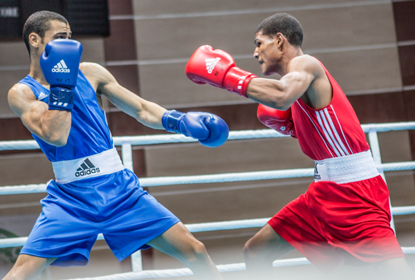 The deal will see Adidas provide the latest equipment to the competing athletes ©AIBA