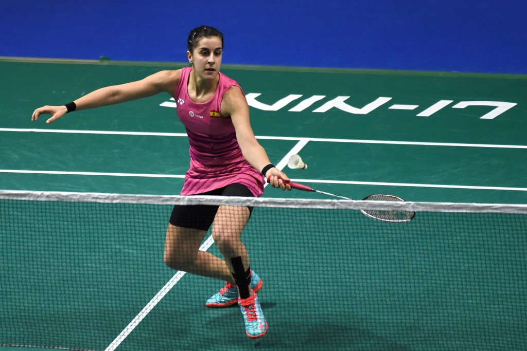 Olympic champion Marin crashes out in first round of BWF Indonesia Open