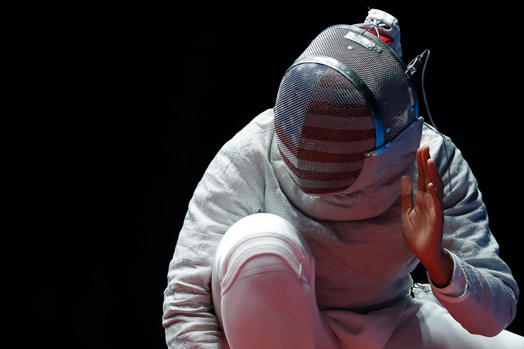 Ibtihaj Muhammad will look to retain her women's sabre title ©Getty Images