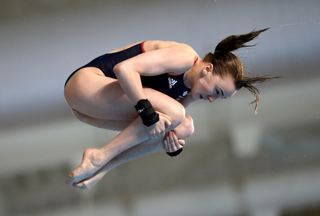 Great Britain's Lois Toulson won the women's 10m platform competition ©Getty Images