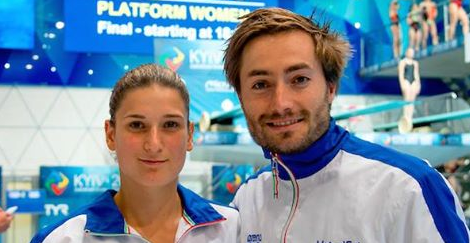 Italian pair win 3m synchronised mixed gold at 2017 European Diving Championships