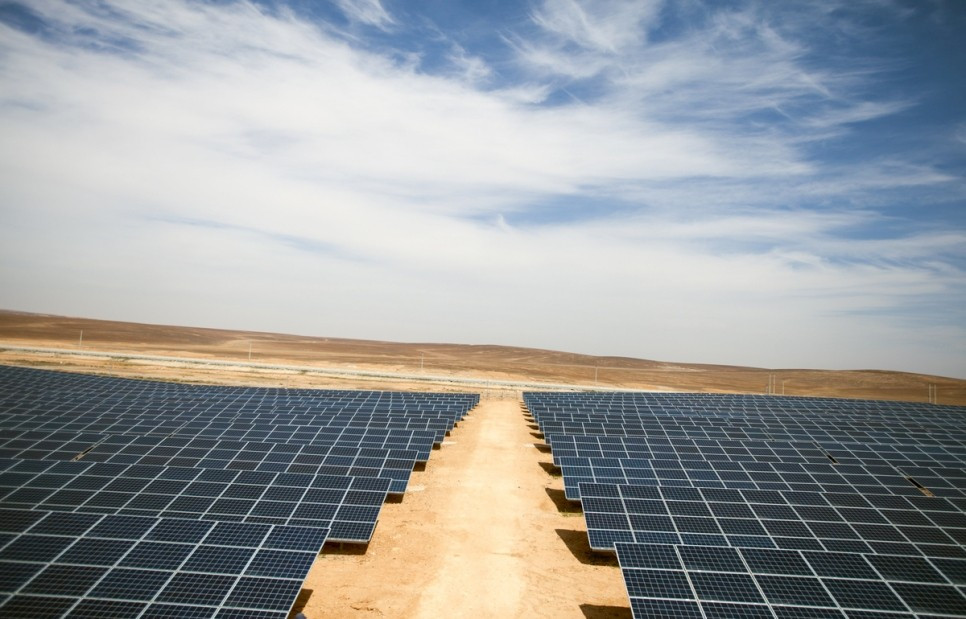THF base in Jordan becomes world's first renewable energy refugee camp