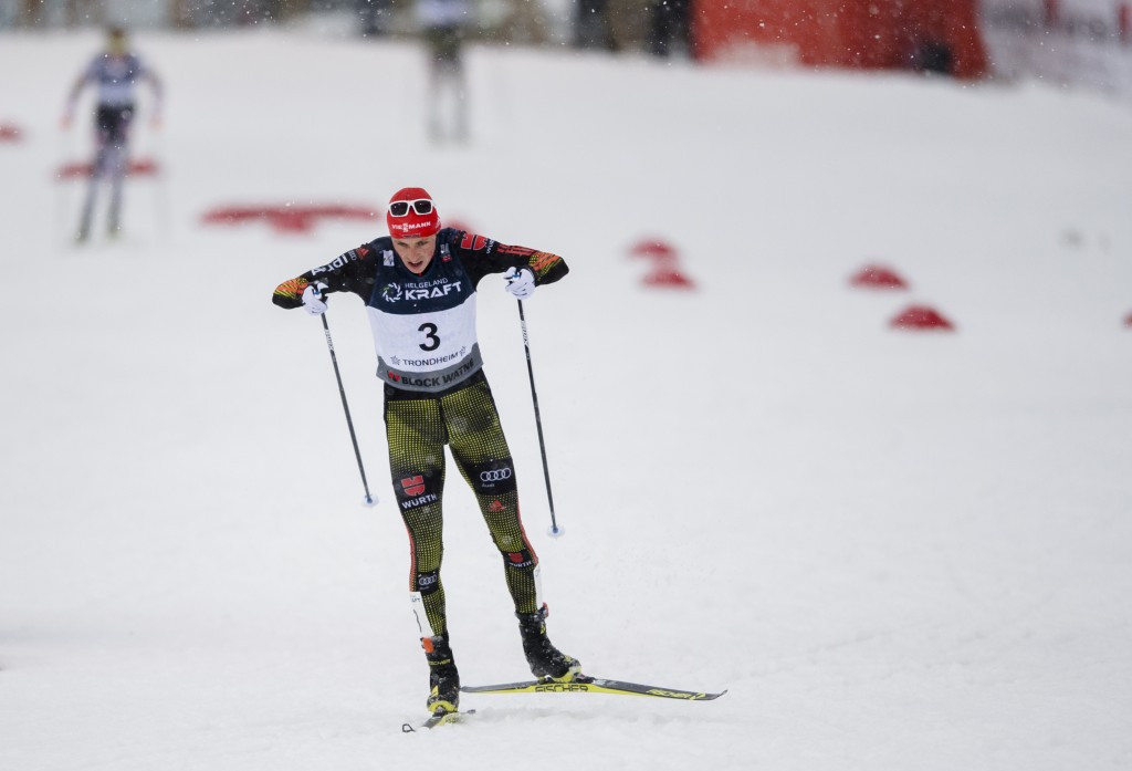 Eric Frenzel will be hoping he competes in the World Cup final on home soil as the Olympic champion ©Getty Images
