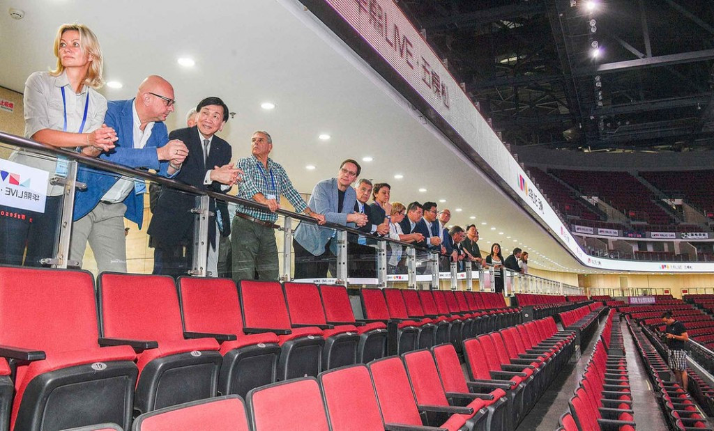 The deal was struck during the recent Coordination Commission visit to Beijing ©IOC