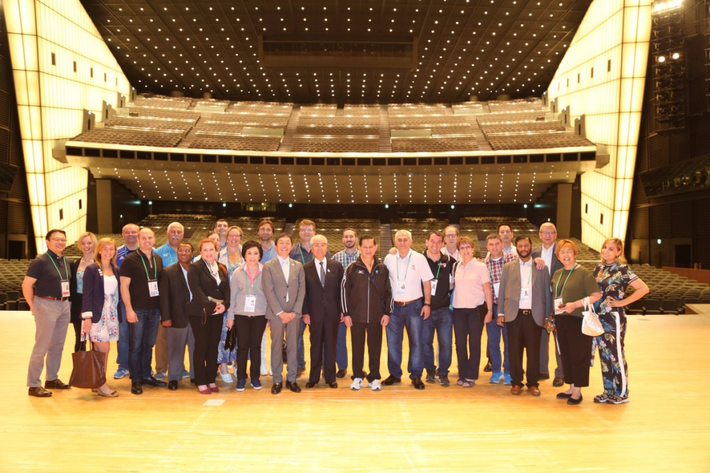 IWF Executive Board members have met in Tokyo following the IOC decisions ©IWF/Twitter