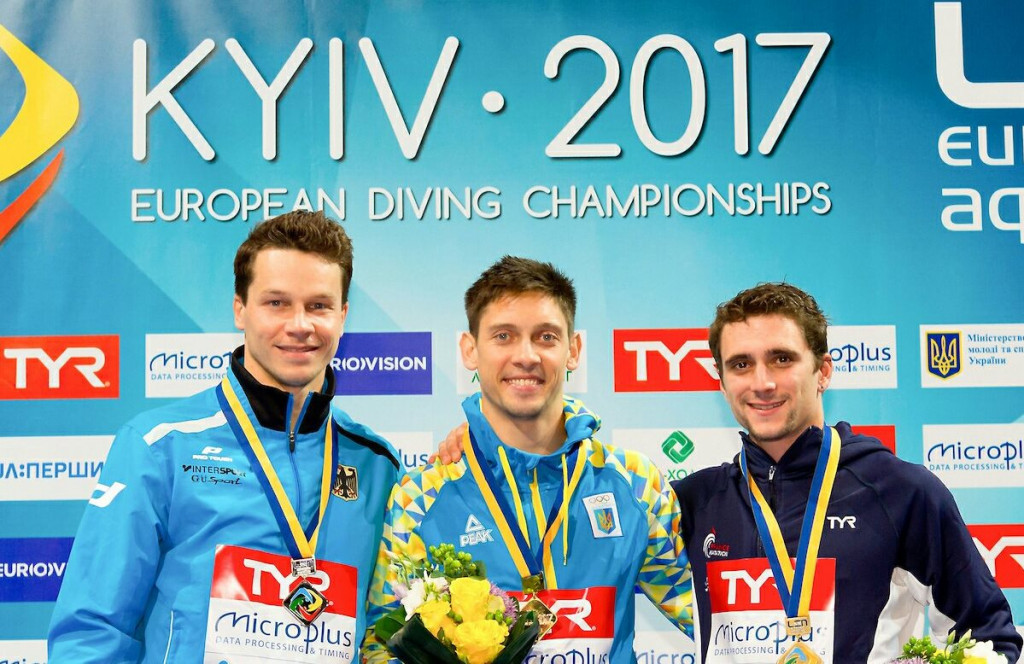 Home favourite Kvasha claims seventh European Diving Championships title