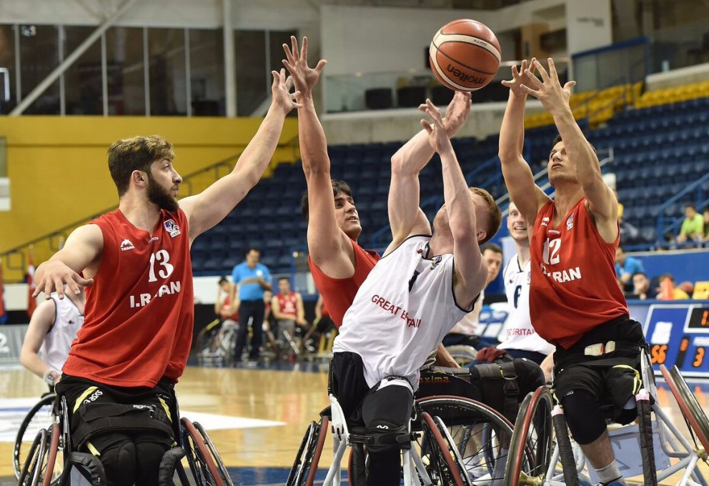Britain ease past Iran to reach IWBF World Under-23 Championships semi-finals