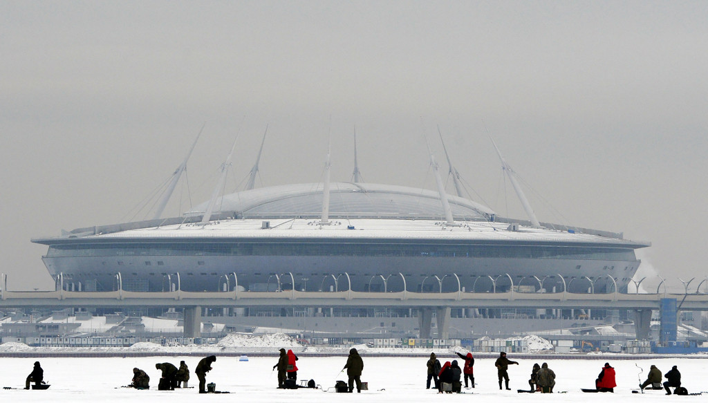 Human Rights Watch claims workers are being exploited at Russia 2018 stadiums