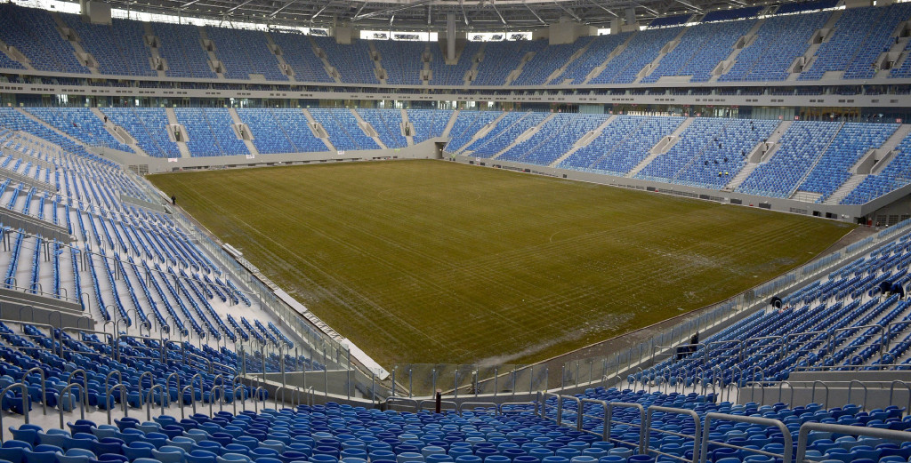 The Saint Petersburg Stadium is one of four venues to be used for the 2017 Confederations Cup ©Getty Images