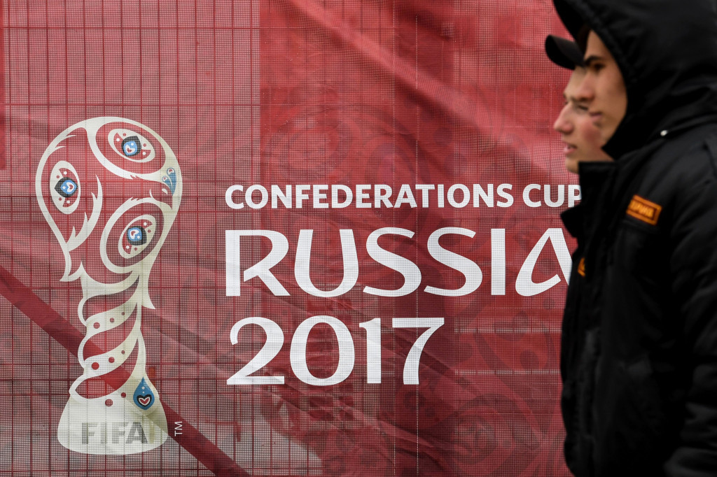 The 2017 Confederations Cup is due to begin on Saturday (June 17) ©Getty Images