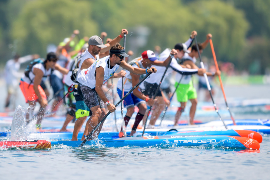 Bosses at the International Canoe Federation and International Surfing Association have asked for a mediator from CAS to help with discussions over the governance of stand up paddle racing ©Getty Images