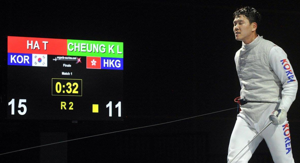Home favourite Cheung loses final on opening day of Asian Fencing Championships