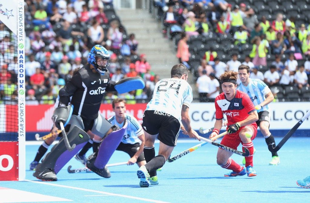Olympic champions begin Hockey World League semi-final campaign with narrow win