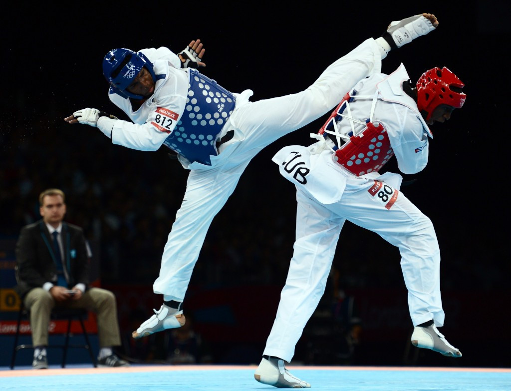 Chika Chukwumerije is the only Nigerian taekwondo player to have won an Olympic medal ©Getty Images