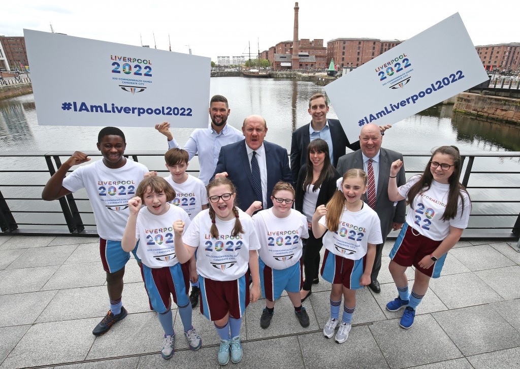 Liverpool has today unveiled its plans to host the 2022 Commonwealth Games ©Liverpool City Council