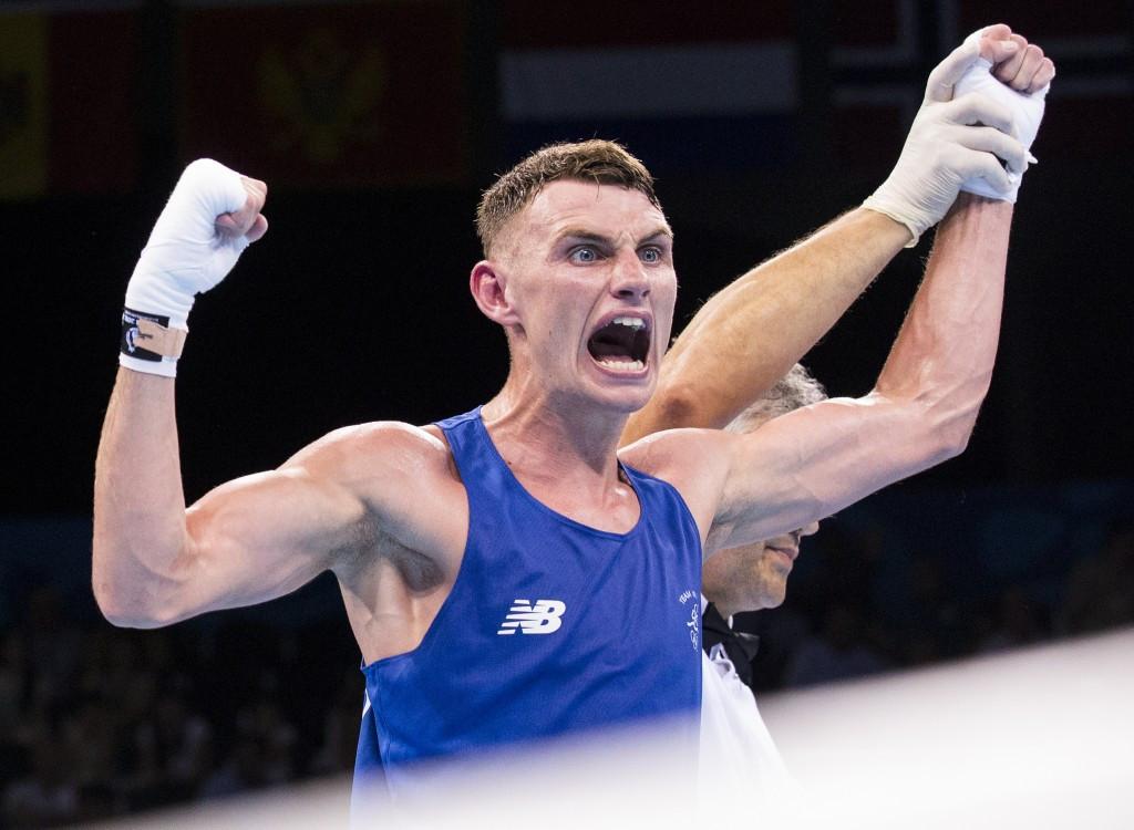 Baku 2015 medallist wins on opening day of European Boxing Championships