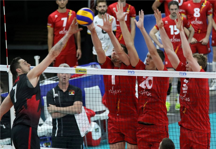 Hosts Belgium lose in five sets as FIVB World League continues