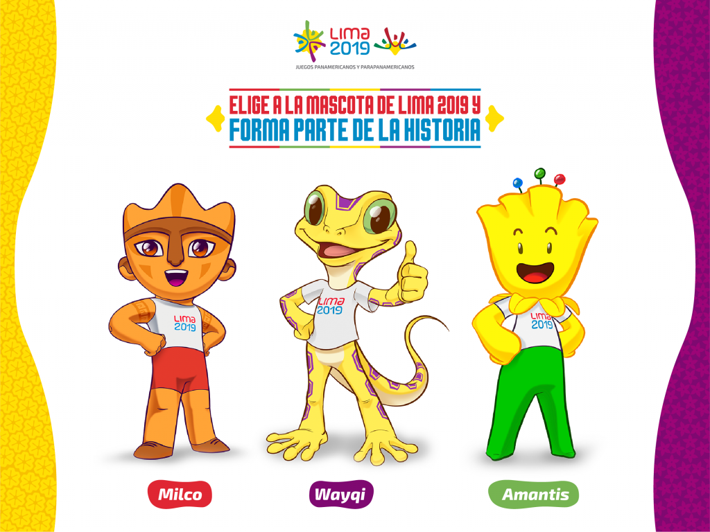 Lima 2019 reveal mascot contenders following public design competition