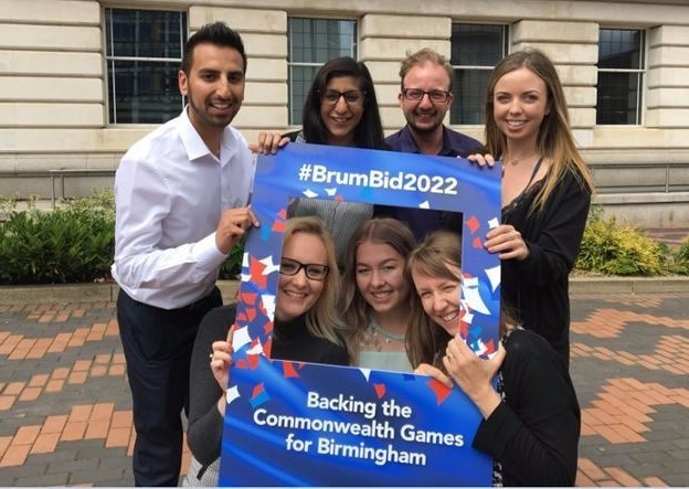 Birmingham to unveil vision and logo for 2022 Commonwealth Games bid on Monday