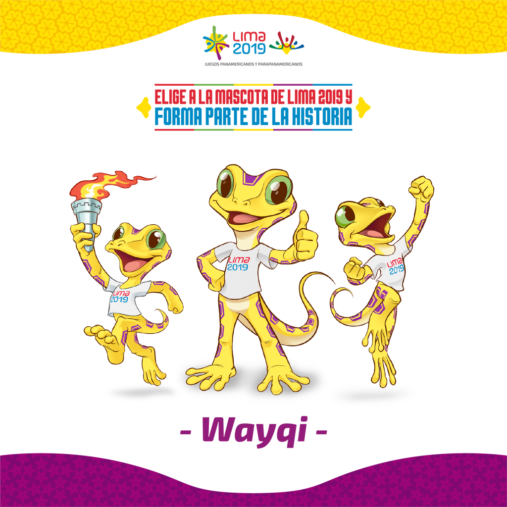 Wayqi is inspired by the Lima leaf-toed gecko ©Lima 2019