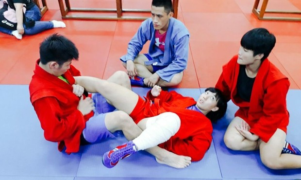 Sambists prepare for Asian Championships with training camps in South Korea