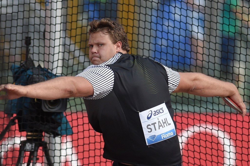 Stahl ready to lead Swedish Diamond League charge in Stockholm