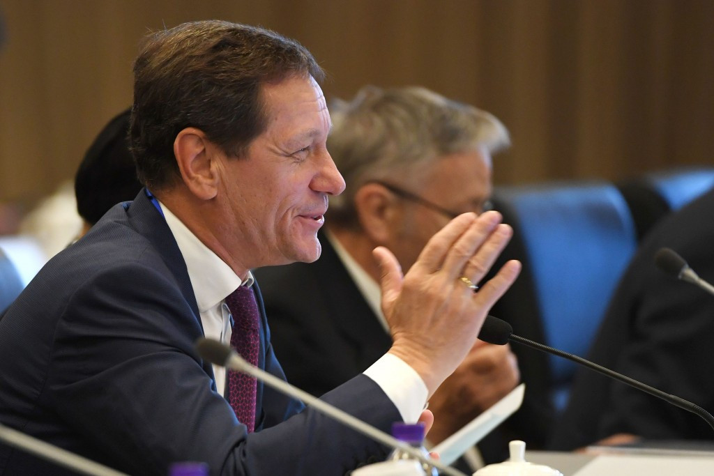 Coordination Commission chairman Alexander Zhukov was full of praise for Beijing 2022 during the visit ©Getty Images