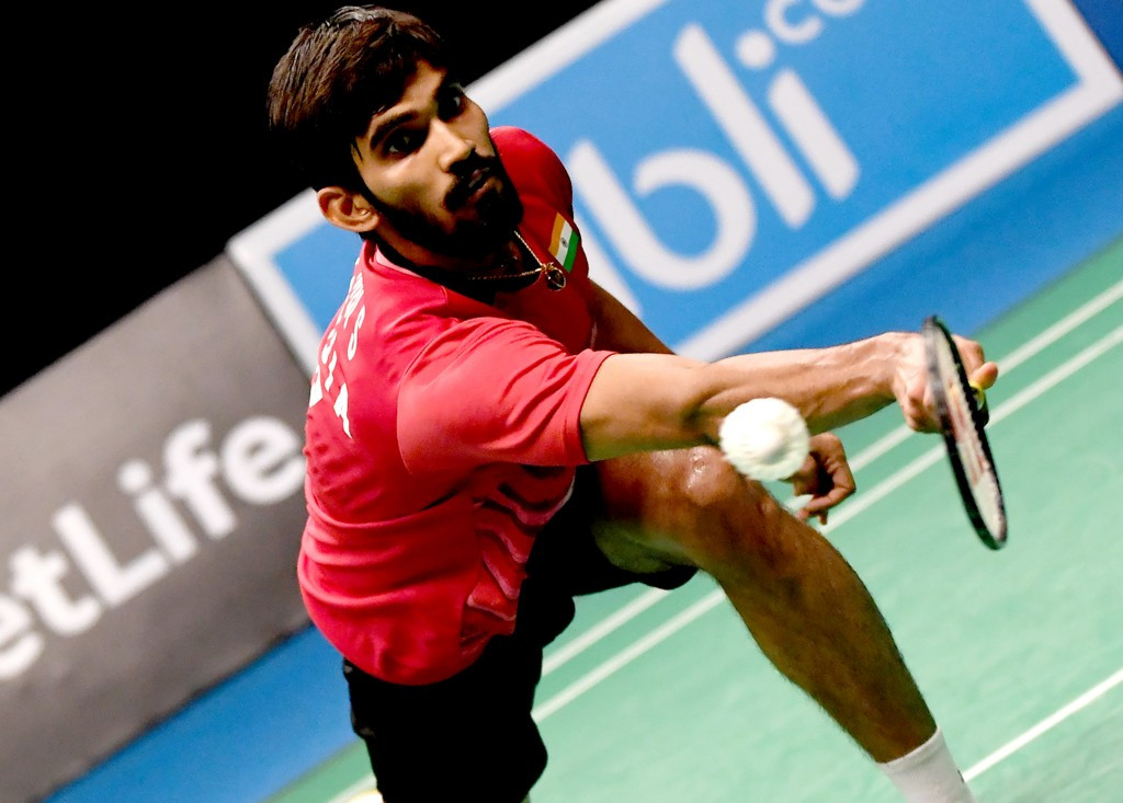 Kidambi knocks out second seed to reach BWF Indonesia Open final