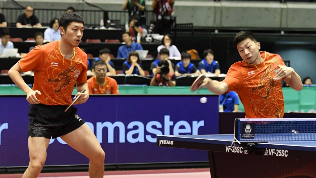 China clinch men's and women's doubles titles at ITTF Japan Open
