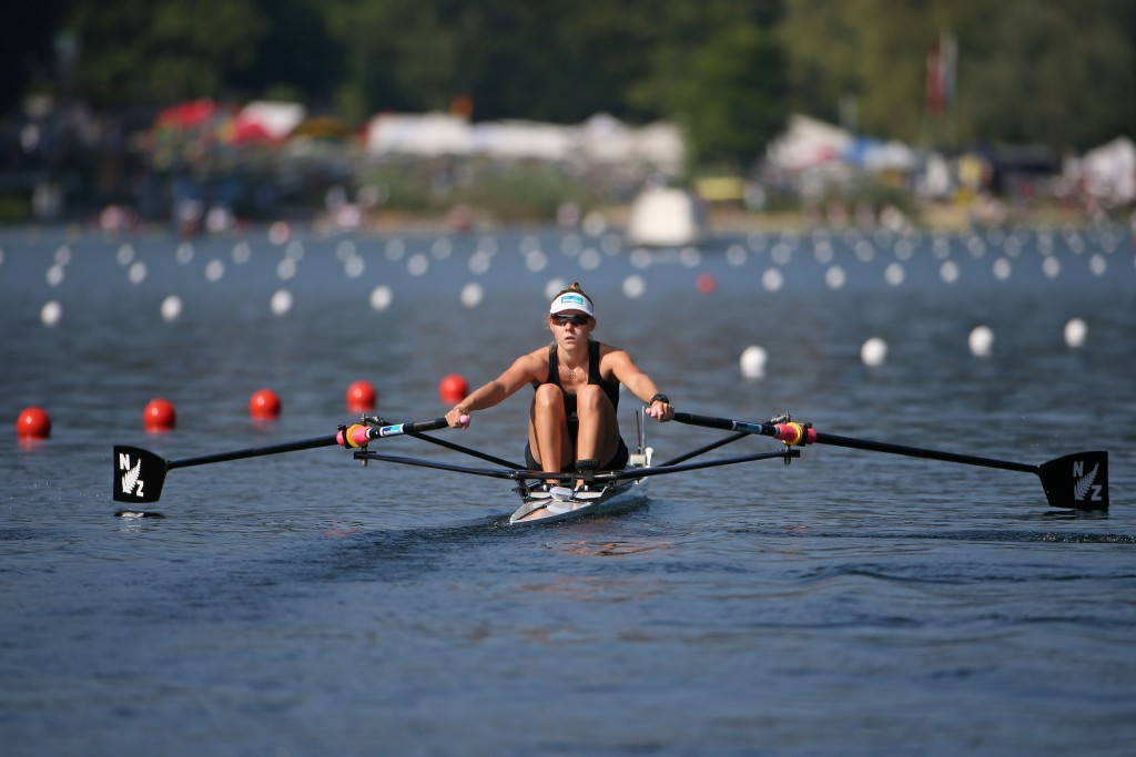 Kiddle claims lightweight women's single sculls title at World Rowing Cup