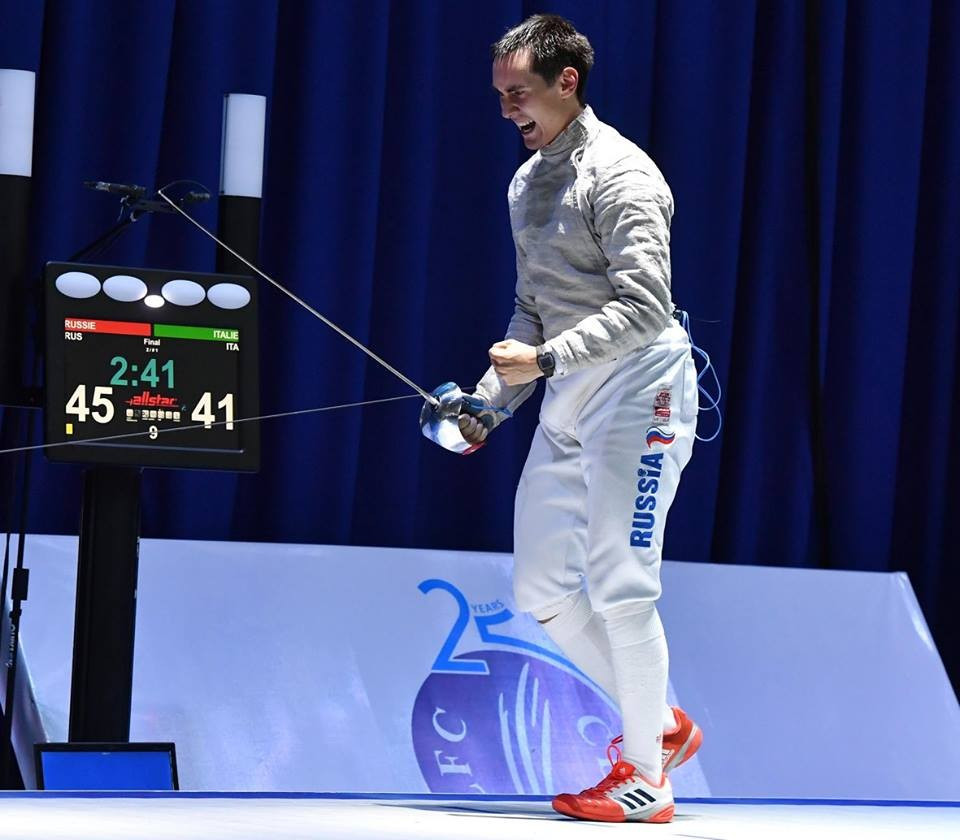 Differing fortunes once more for Russia as European Fencing Championships conclude