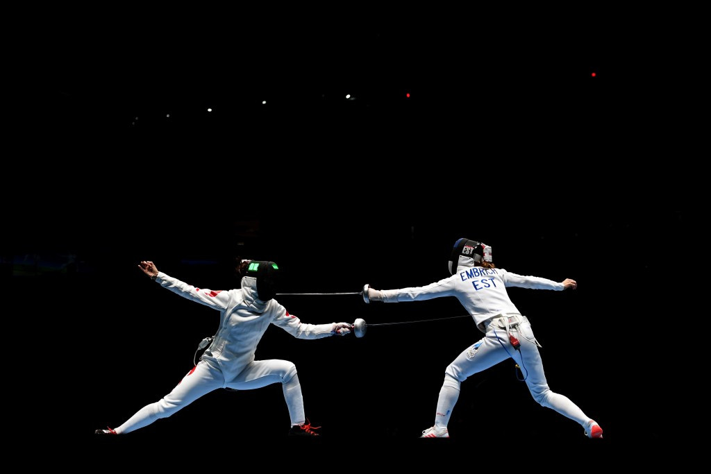 Olympic bronze medallist Sun Yiwen, left, was knocked out at the semi-final stage ©Getty Images