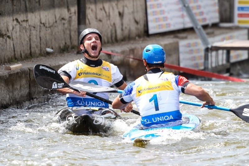 Prindis claims first-ever ICF Canoe Slalom World Cup win in Prague