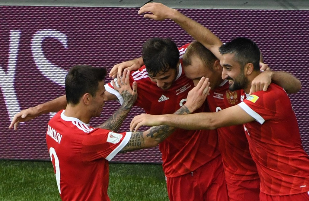 Russia begin Confederations Cup campaign with easy win over New Zealand