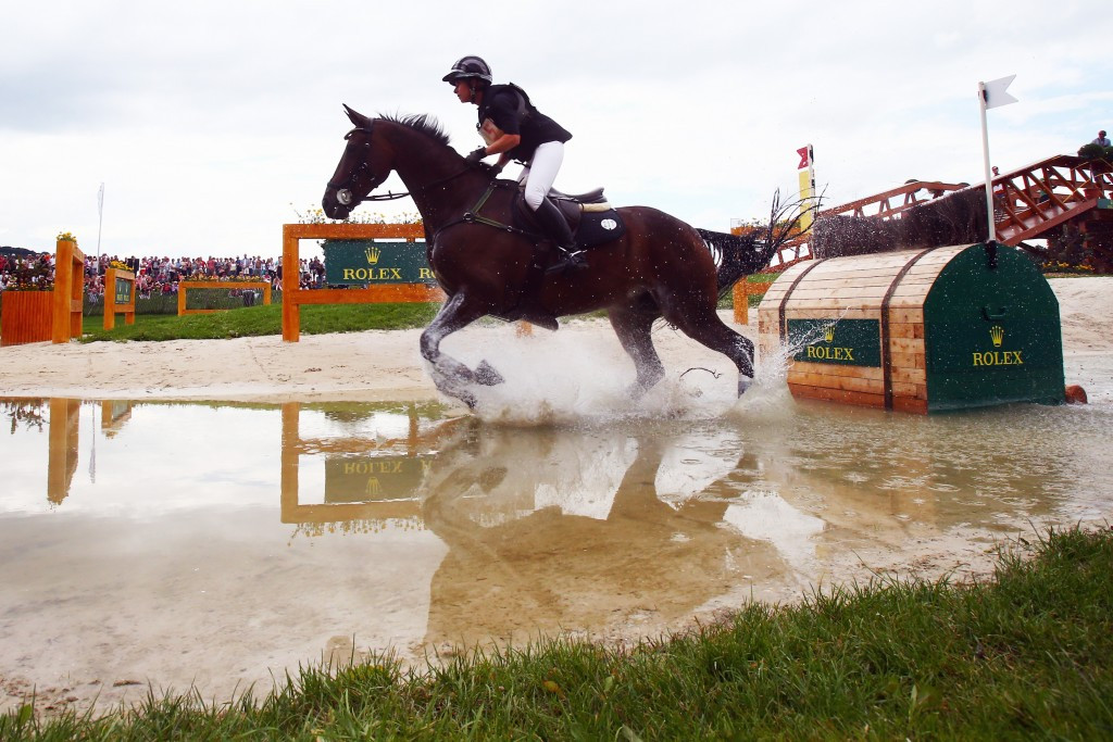 Hoy retains lead after cross-country at Luhmuhlen Horse Trials